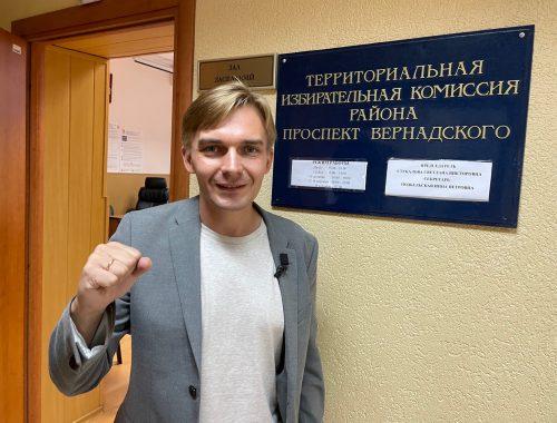 Полиция пришла к кандидату в депутаты Госдумы от КПРФ Михаилу Лобанову