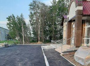 Социально-культурный центр возвели в посёлке Волочаевка-2