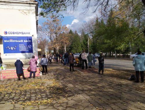 Более 40 минут ждали горожане автобуса в сторону Бумагина вчера днём