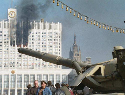 Сегодня исполняется 28 лет расстрелу законного избранного российского парламента